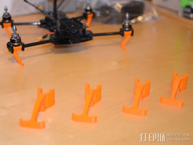 多轴飞行器 传动装置 3D模型  图5