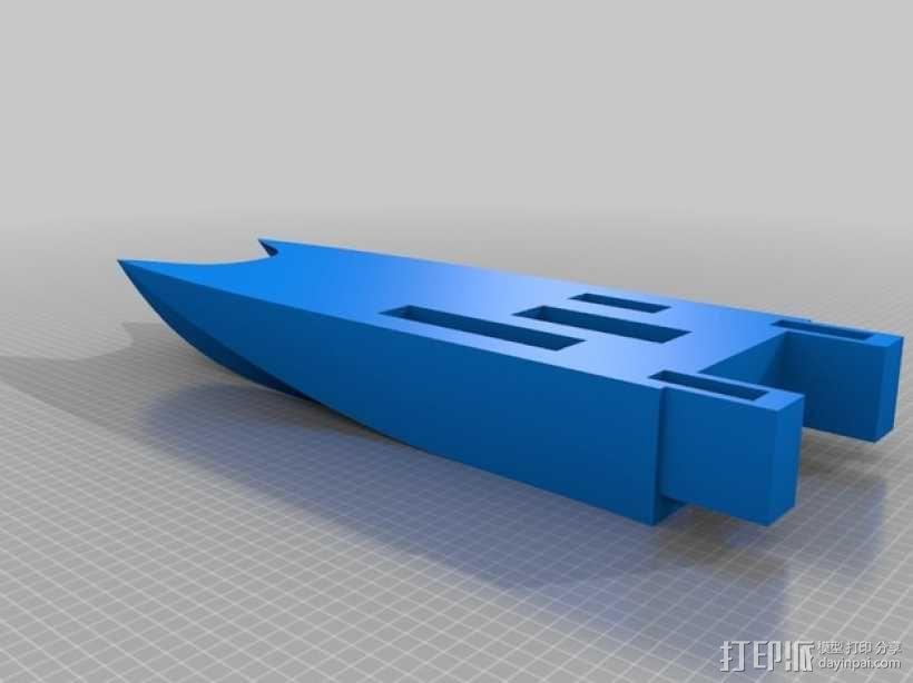 一搜酷炫的船 3D模型  图2
