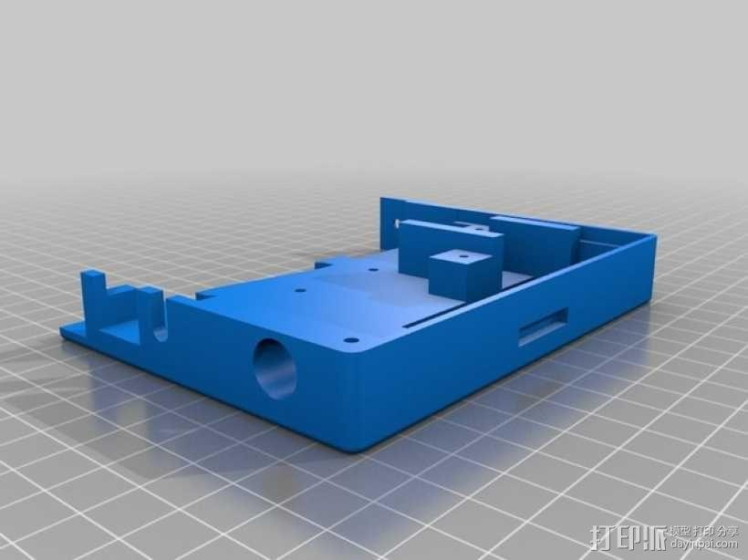InMoov机器人触摸显示器外壳 3D模型  图2