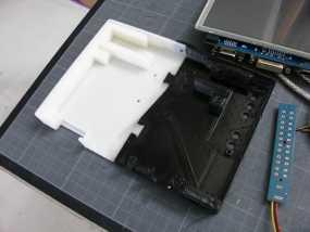 InMoov机器人触摸显示器外壳 3D模型