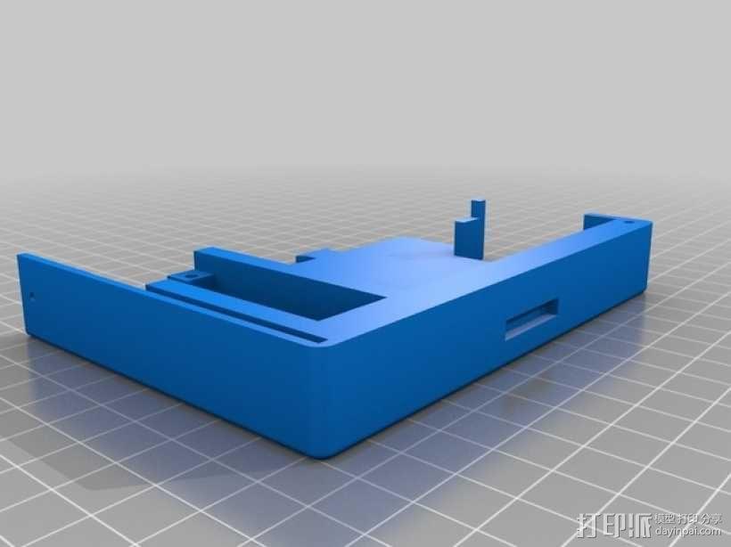InMoov机器人触摸显示器外壳 3D模型  图5