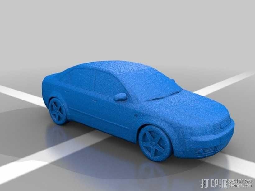 tranket 汽车 3D模型  图1