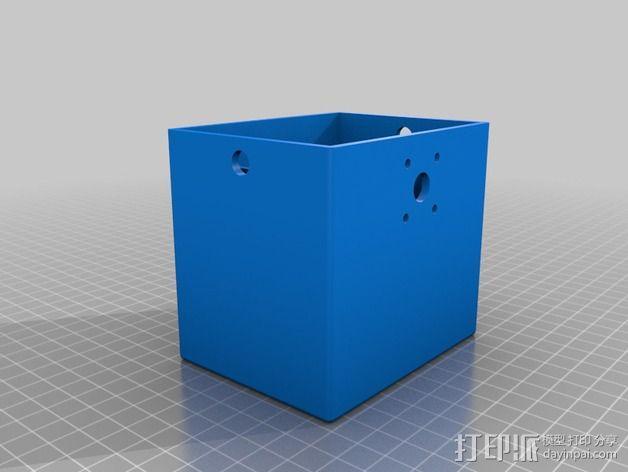 天线变压器 外壳 3D模型  图2