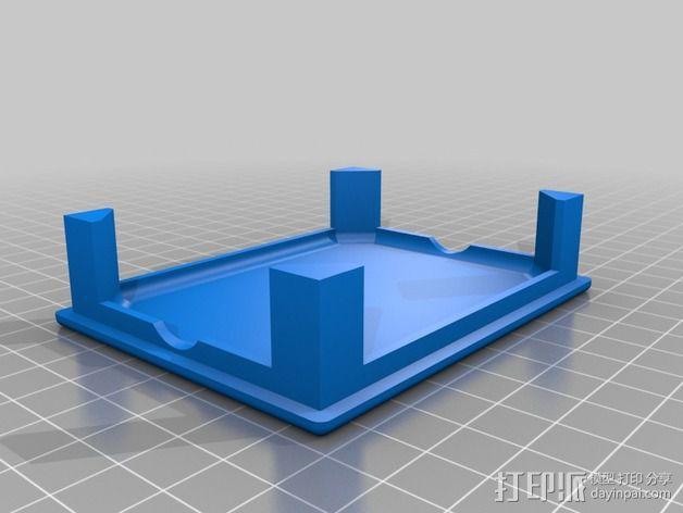 天线变压器 外壳 3D模型  图3