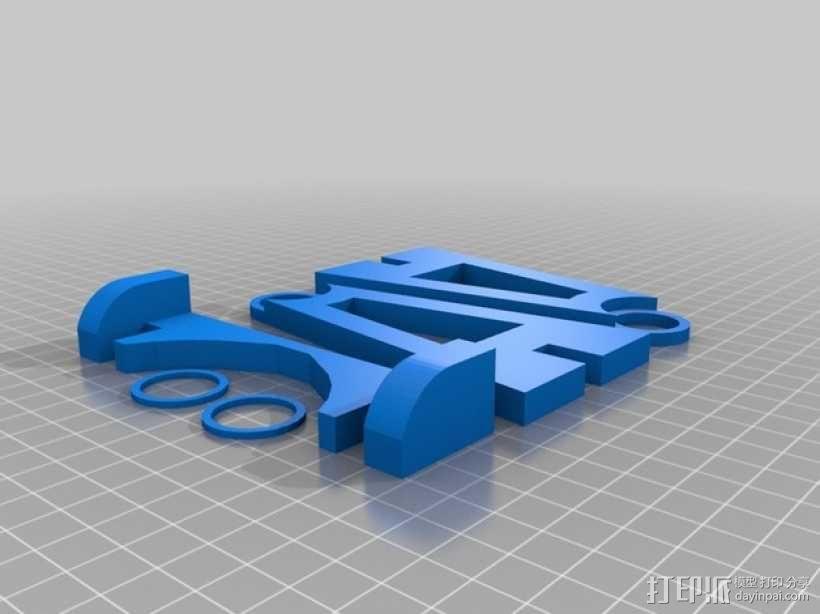 螺旋桨均衡器 3D模型  图1