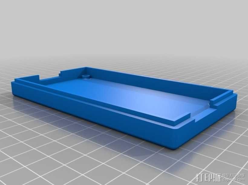 电视红色信号放大器 外壳 3D模型  图3