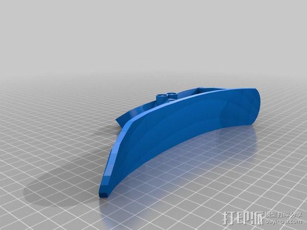 小提琴肩托  3D模型  图2