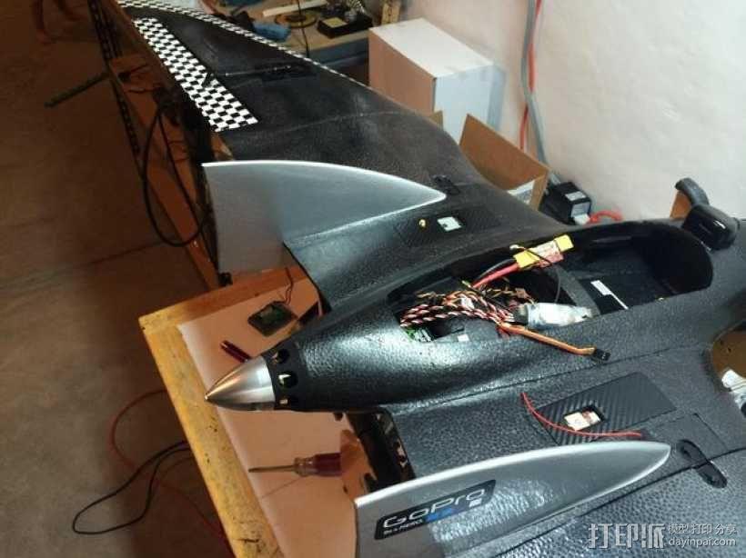 RVJET模型飞机微调器盖 3D模型  图6