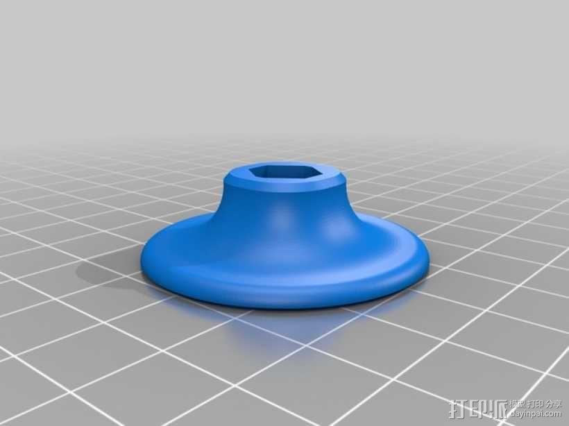 Neo-7M GPS模块底板 3D模型  图1