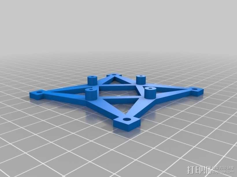 飞行控制器保护盖 3D模型  图2