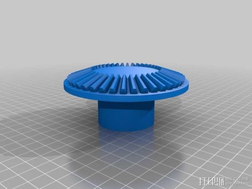 伞齿轮/锥齿轮 3D模型  图3