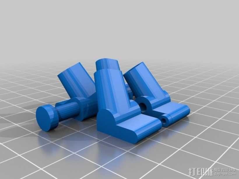 起落橇  3D模型  图3