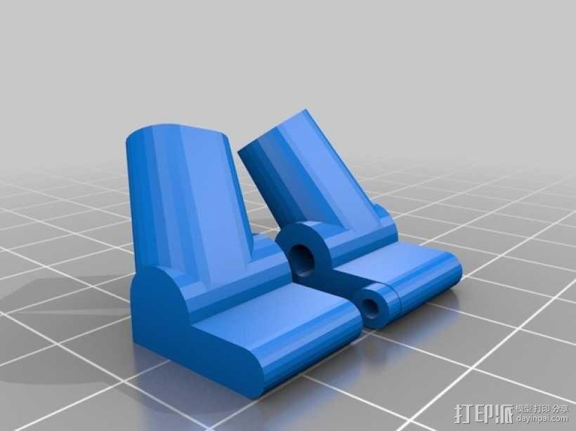 起落橇  3D模型  图4