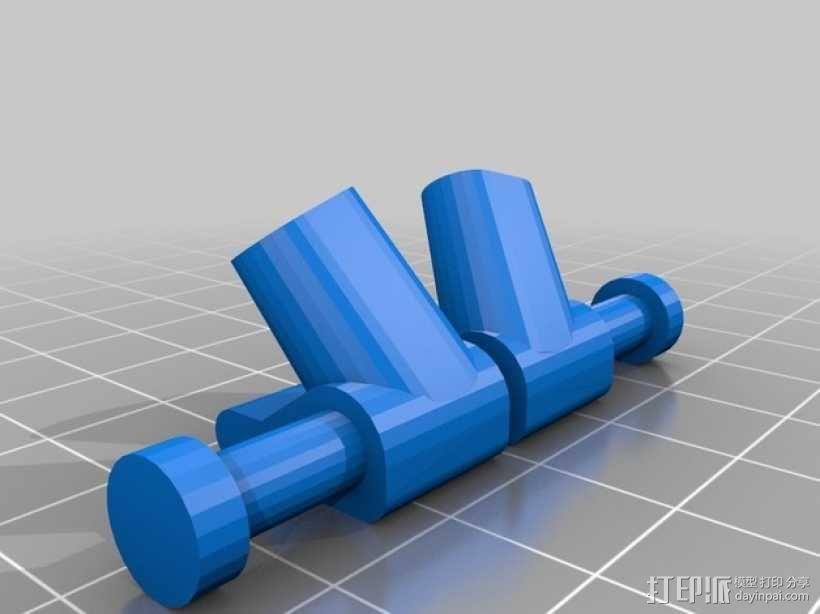 起落橇  3D模型  图5