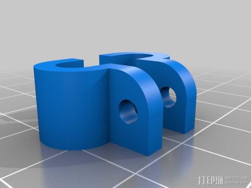 起落橇  3D模型  图7