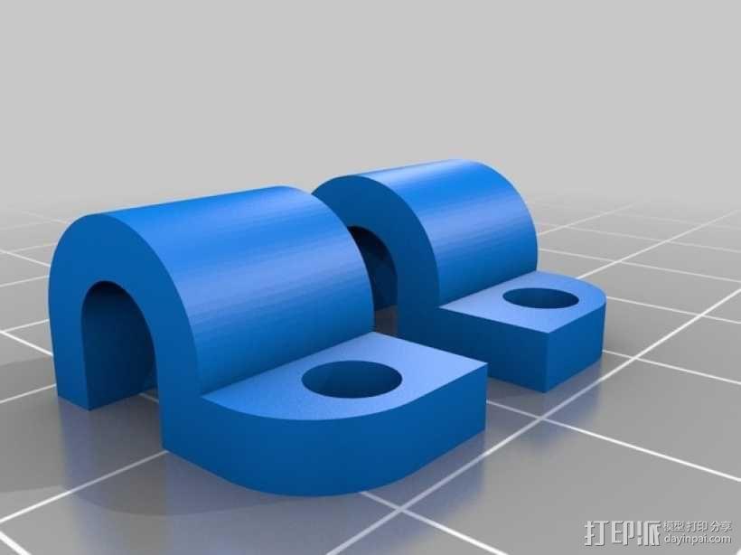 起落橇  3D模型  图8