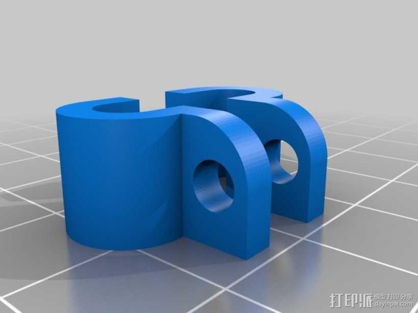 起落橇  3D模型  图9