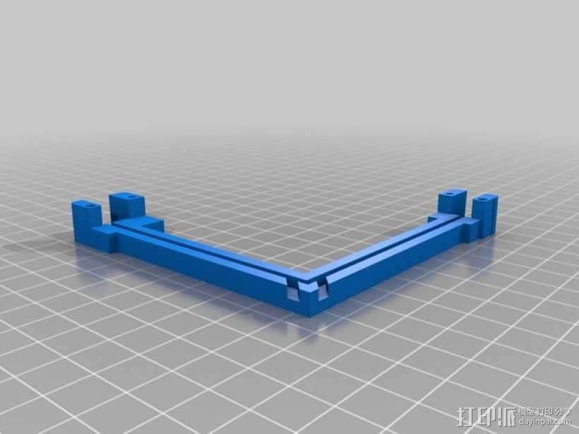 FrSky X8R天线架 3D模型  图2