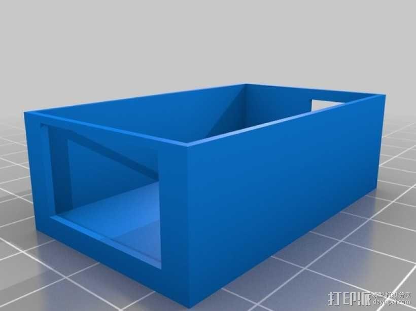 FrSky X8R天线架 3D模型  图3