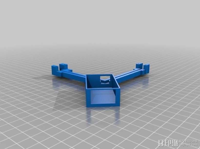 FrSky X8R天线架 3D模型  图5