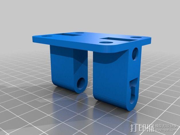 激光二极管 支架 3D模型  图2