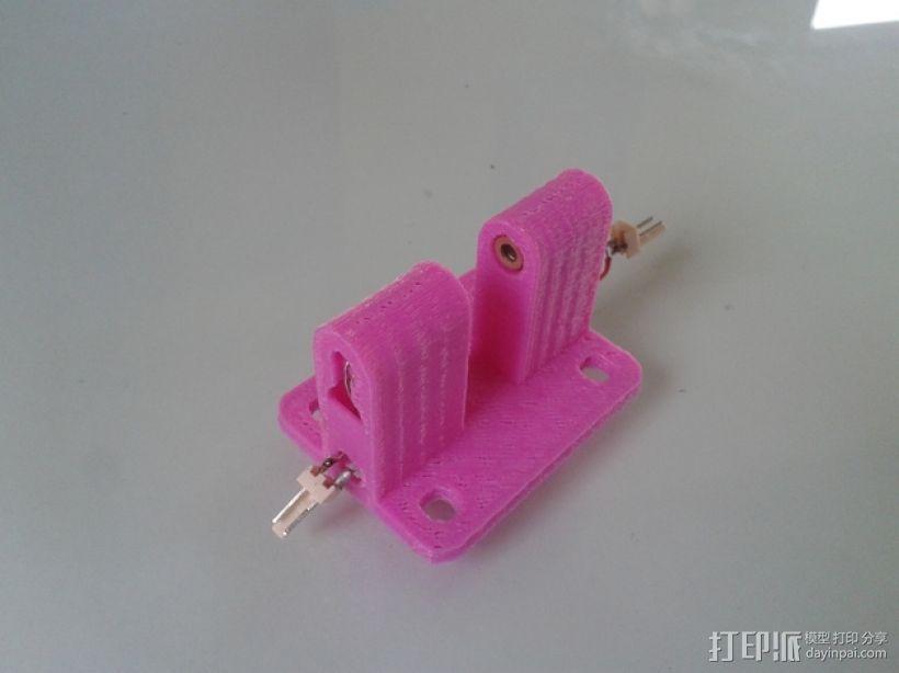 激光二极管 支架 3D模型  图1