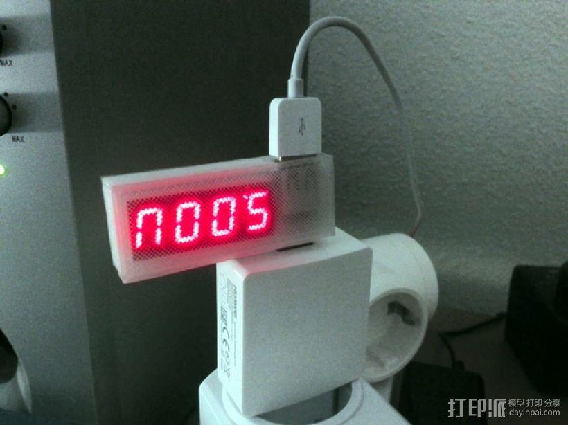 USB伏特安培计 外壳 3D模型  图1