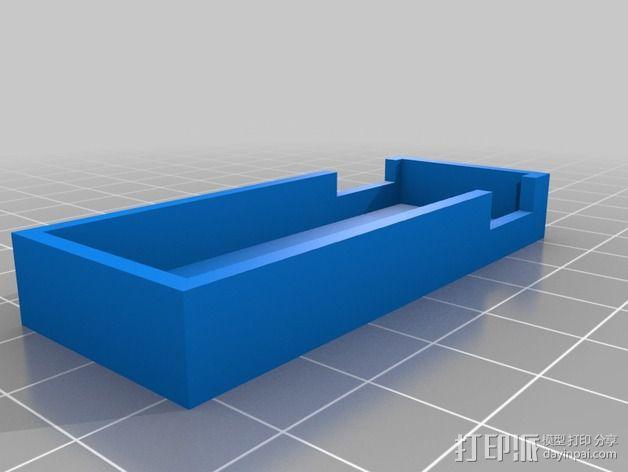 USB伏特安培计 外壳 3D模型  图2