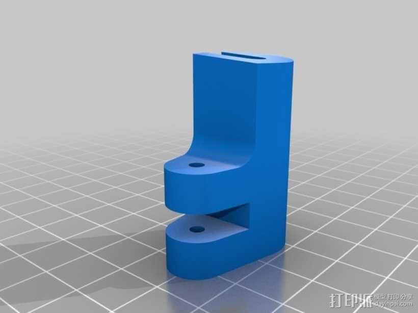 Futaba 10C发射器 支架 3D模型  图3