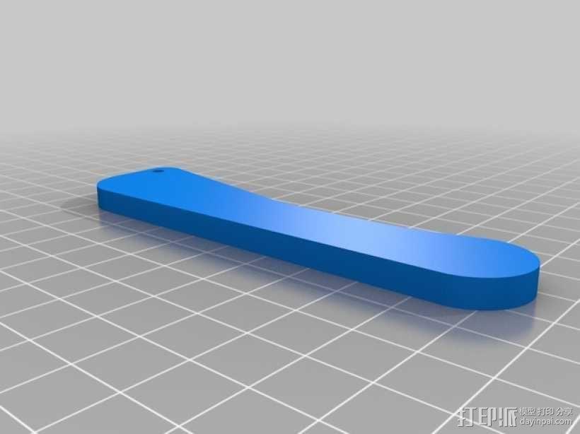 Futaba 10C发射器 支架 3D模型  图2