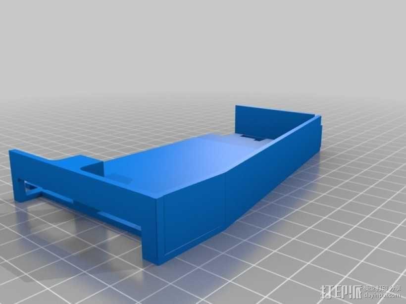 车载烟灰缸 支架 3D模型  图5
