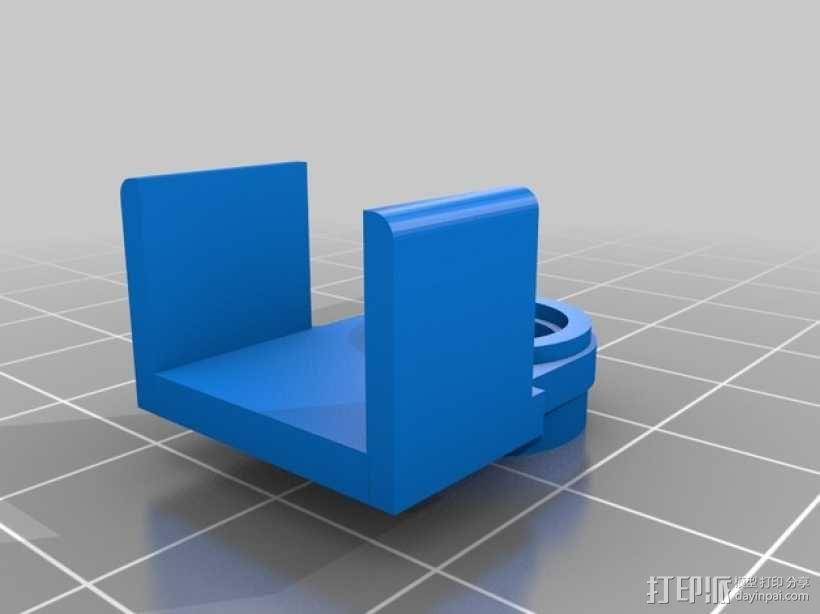 车载烟灰缸 支架 3D模型  图9