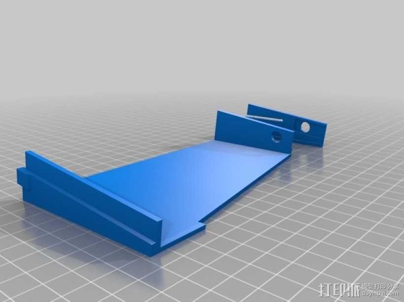 车载烟灰缸 支架 3D模型  图10