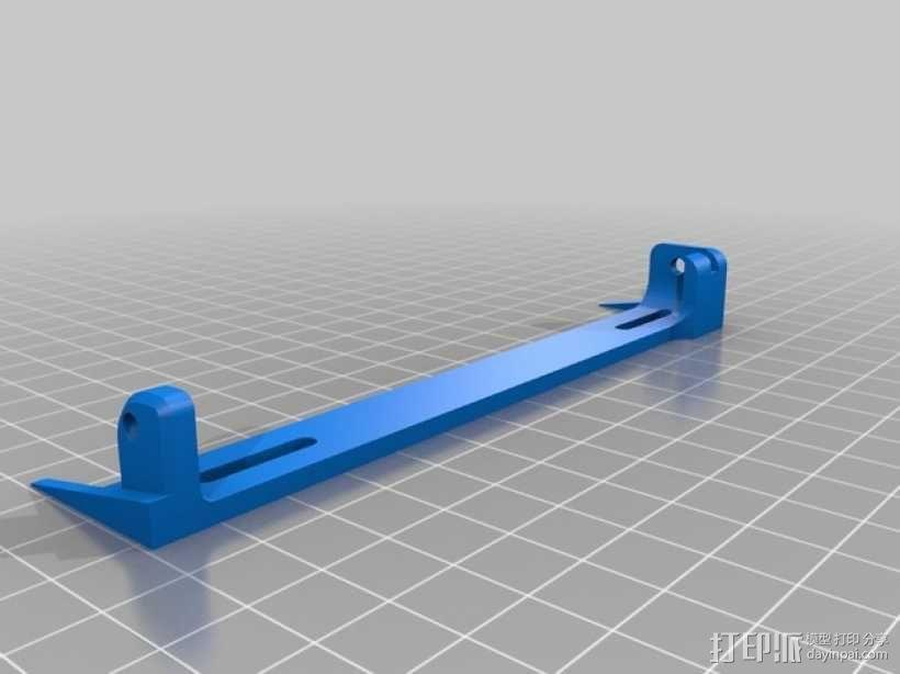 车载烟灰缸 支架 3D模型  图12