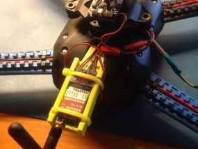 视频发射机 支架 3D模型