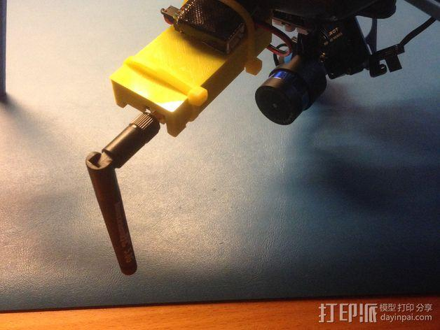 视频发射机 支架 3D模型  图5