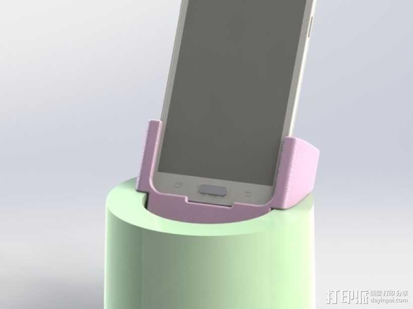 车载三星Galaxy S5手机架 3D模型  图1