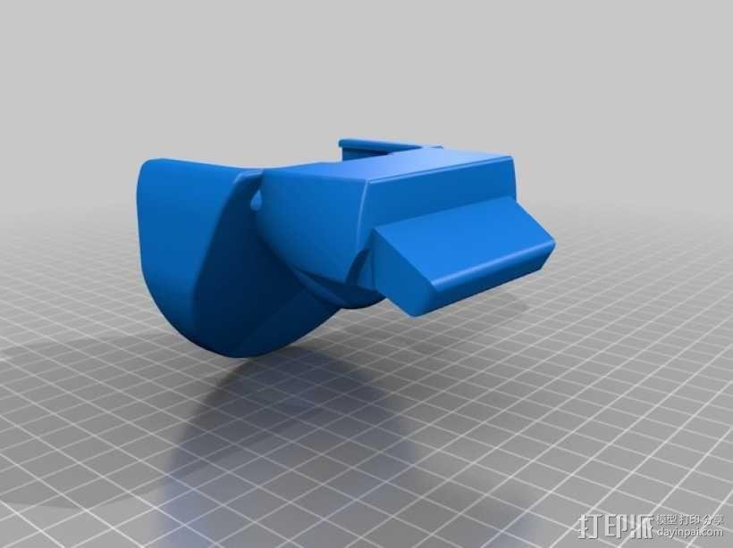 车载三星Galaxy S5手机架 3D模型  图2