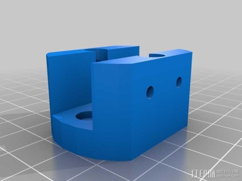 多轴飞行器 发动机架  3D模型  图2