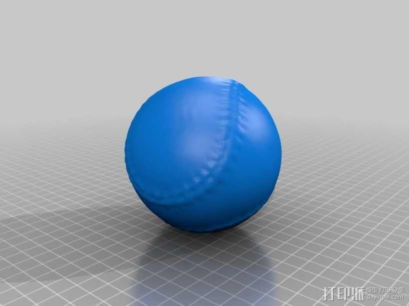 棒球 3D模型  图2