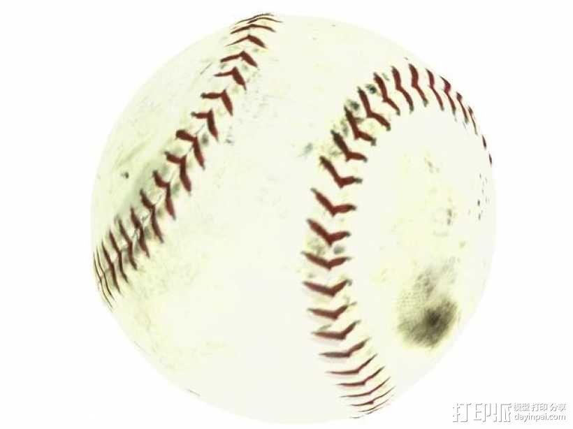 棒球 3D模型  图4