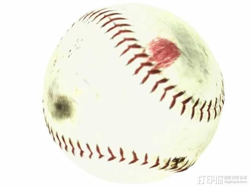 棒球 3D模型  图3