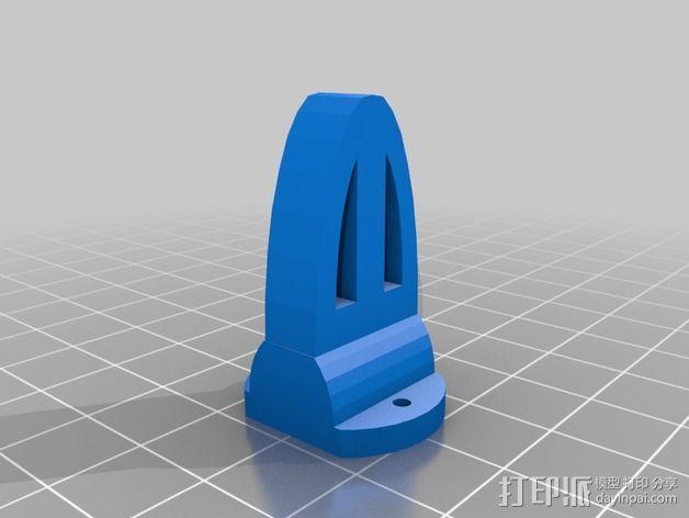 迷你四轴飞行器零部件 3D模型  图2