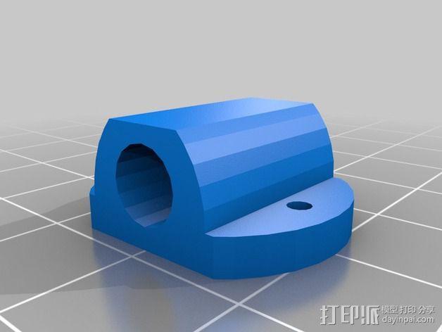 迷你四轴飞行器零部件 3D模型  图5