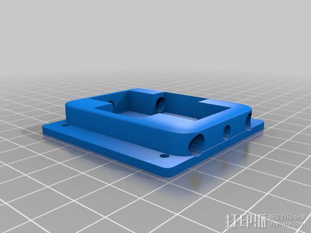 迷你四轴飞行器零部件 3D模型  图6