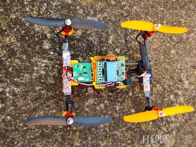 迷你四轴飞行器零部件 3D模型  图12