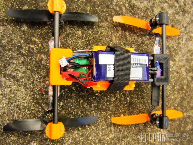 迷你四轴飞行器零部件 3D模型  图13