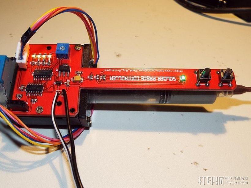 糊状注射器 支架 3D模型  图1