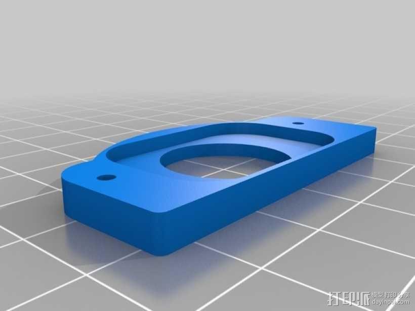 糊状注射器 支架 3D模型  图2