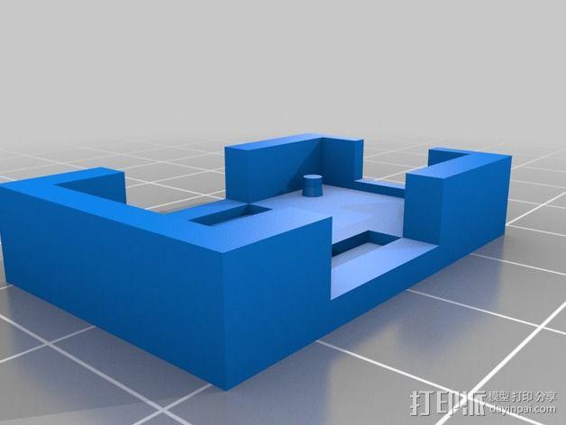 微处理器外壳 3D模型  图3